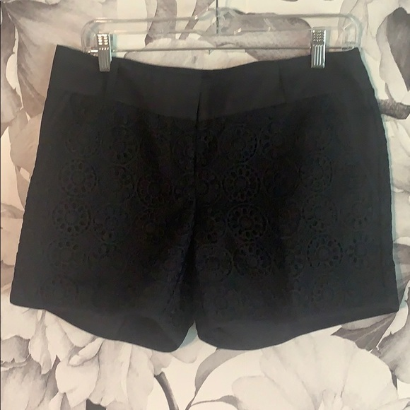 The Limited Pants - The Limited dressy black shorts
